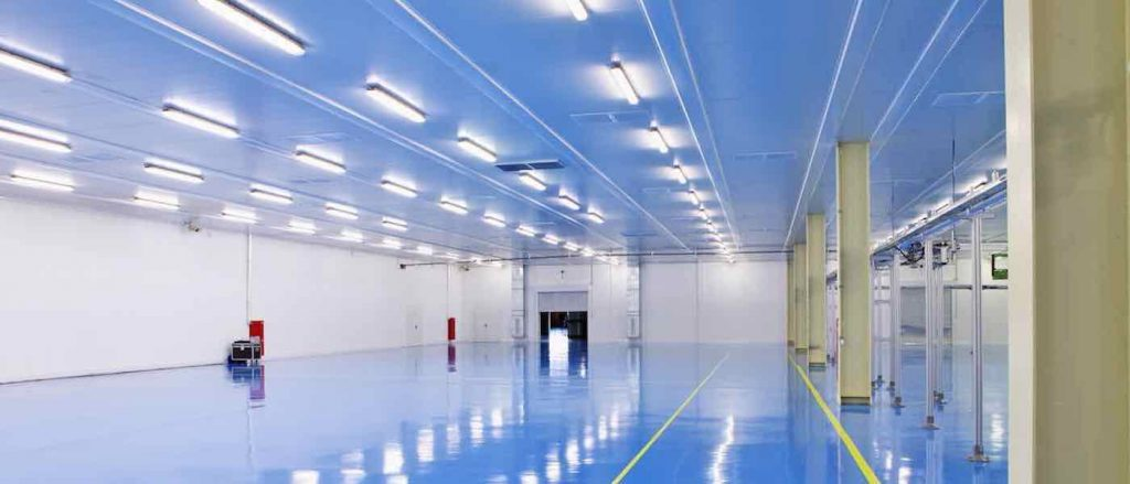 Lighting Control Systems for Industrial Buildings