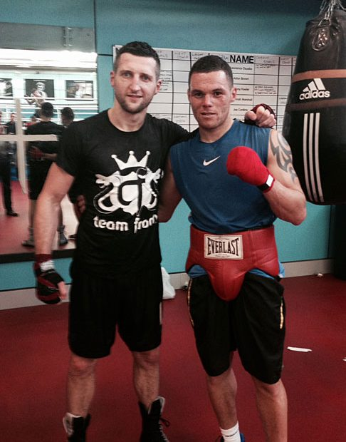 Grant Cunningham of CP Northern & Carl Froch