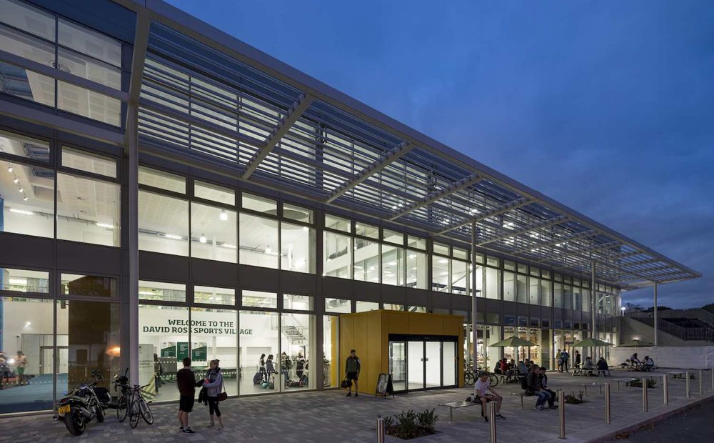 David Ross Sports Village - zencontrol