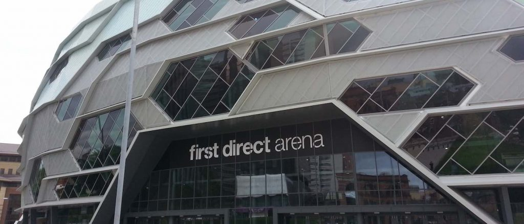 Leeds First Direct Arena - zencontrol