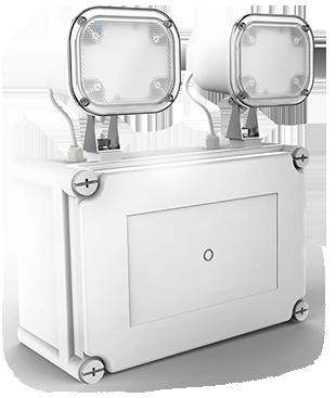 Twinspot Emergency Lighting Ektor UK