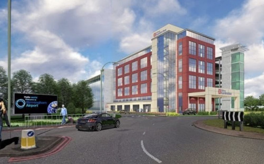 New contract win - Hilton Garden Inn, Birmingham Airport