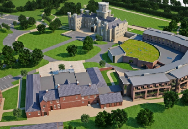 New contract win - Studley Castle in Warwickshire